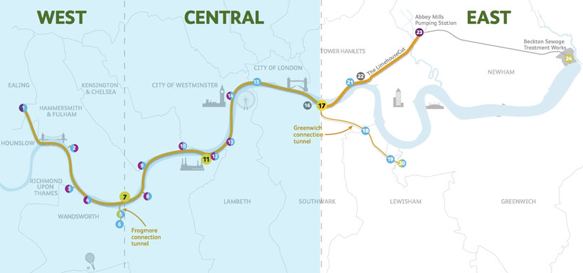 Vinci Wins Contract For East Works Package Of Thames