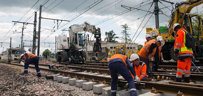 Eurovia, via sa filiale ETF, s�lectionn�e par SNCF R�seau pour la campagne 2018-2022 de r�novation du r�seau ferr� national