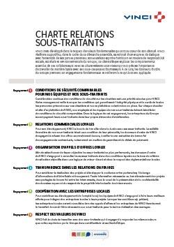 Charte relations sous-traitants