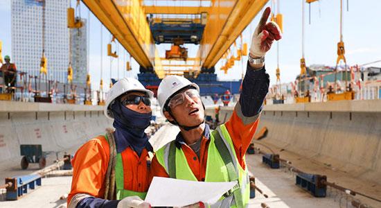 Auswahl der VINCI Construction-Fotos