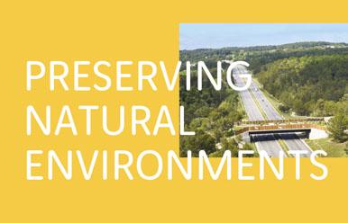 PRESERVING NATURAL ENVIRONMENTS