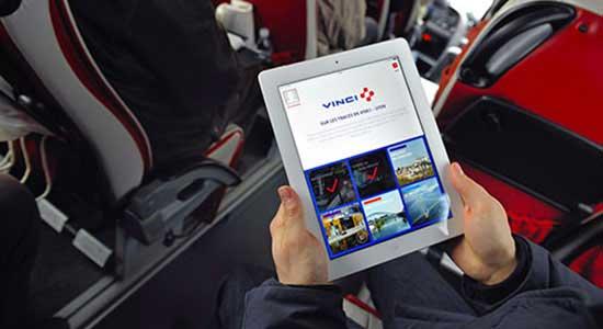 Mobil-App VINCI-News