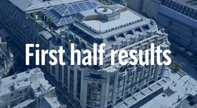 First Half 2021 Financial Results