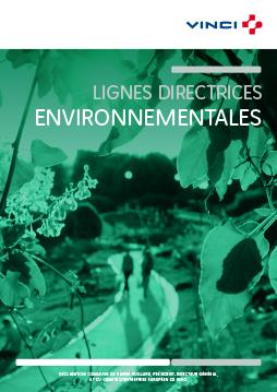 Lignes directrices environnementales VINCI